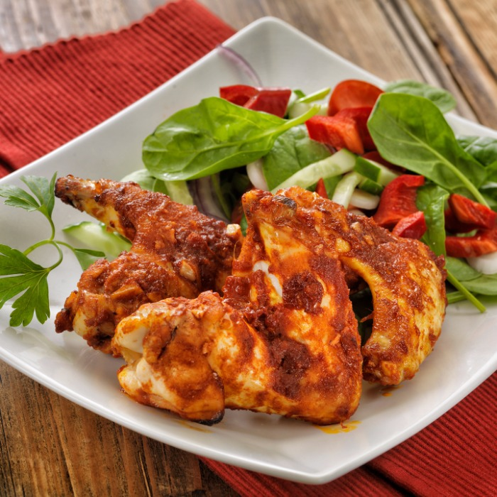 Portugese chicken wings